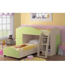 кровать двухъярусная Дюймовочка-5 комплектация №3