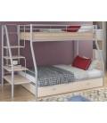buymebel.ru кровать двухъярусная с лестницей Толедо-1-Я