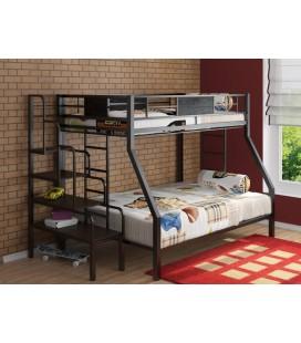 2-хярусная кровать Гранада с лестницей тумбой