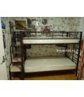 buymebel.ru пример компоновки: лестница для металлических кроватей плюс кровать Севилья