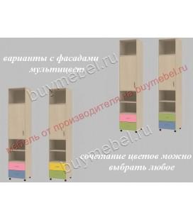 фасады мультицвет ДЕЛЬТА-11 пенал