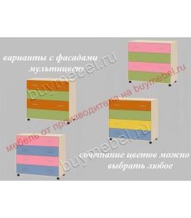 фасады мультицвет ДЕЛЬТА-25 комод