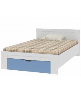 Дельта 19.2 Сильвер кровать полуторка (Формула мебели)
