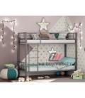 buymebel.ru двухъярусная кровать Севилья-2 цвет серый