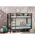 buymebel.ru двухъярусная кровать Севилья-2 цвет чёрный