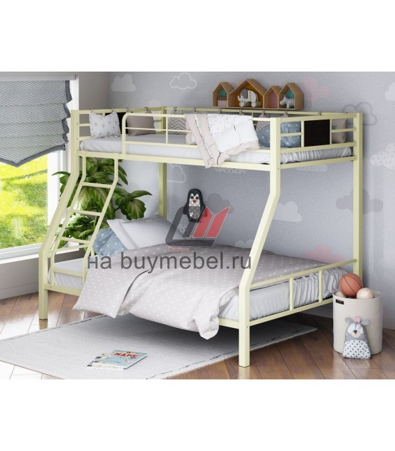 buymebel.ru двухъярусная кровать Гранада-1 слоновая кость