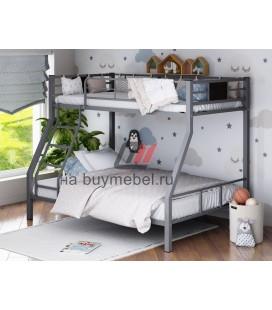двухъярусная кровать Гранада-1 серая