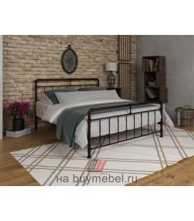 кровать двухспальная Авила цвет коричневый