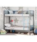 buymebel.ru двухъярусная кровать Севилья-2-01 цвет серый / голубой
