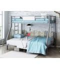 buymebel.ru кровать Гранада 1400 серый / белый