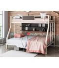 buymebel.ru кровать Гранада-П 140 цвет слоновая кость / венге