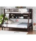 buymebel.ru двухъярусная кровать Гранада-1П 140 цвет коричневый / венге