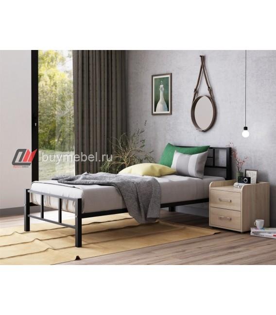buymebel.ru кровать Кадис цвет чёрный