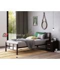 buymebel.ru кровать Кадис цвет коричневый