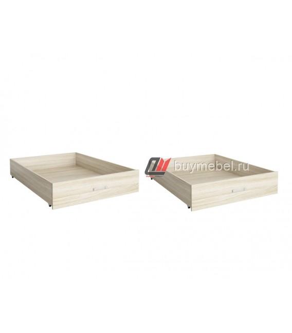 buymebel.ru комплект два ящика 94 на 120 цвет шимо светлый