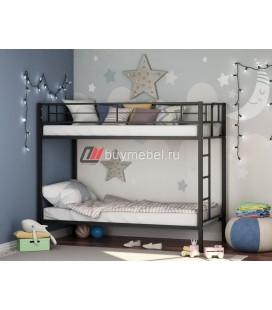 двухъярусная кровать Севилья чёрная