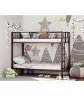 buymebel.ru двухъярусная кровать Севилья коричневая