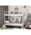 buymebel.ru двухъярусная кровать Севилья белая