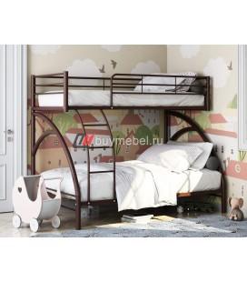 двухъярусная кровать Виньола-2 цвет коричневый