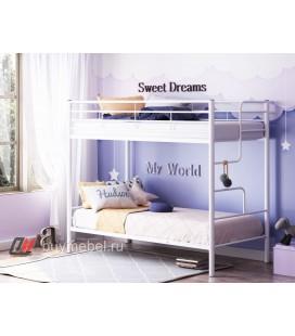 двухъярусная кровать Севилья 4 белая
