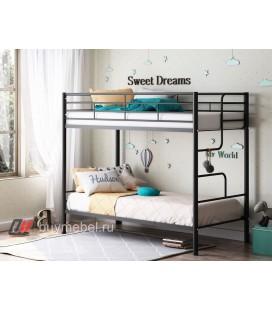 двухъярусная кровать Севилья 4 чёрная