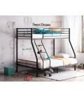 buymebel.ru двухъярусная кровать Гранада 2 140 чёрная
