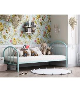 кровать Эфора бирюзовая
