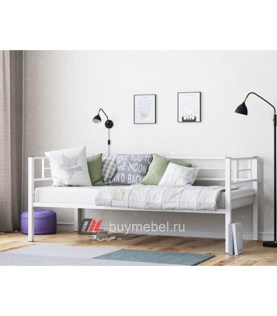 buymebel.ru кровать с бортиками Лорка цвет белый