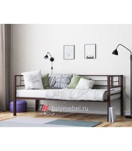 кровать с бортиками Лорка цвет коричневый