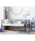 buymebel.ru кровать с бортиками Лорка цвет чёрный