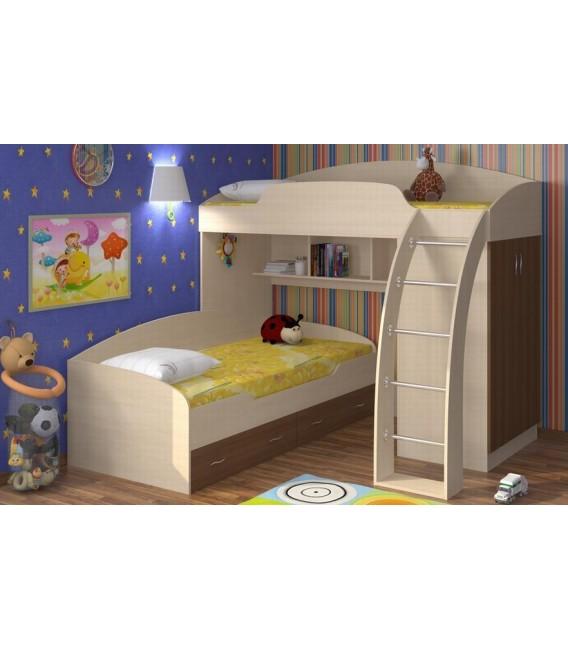 buymebel.ru двухъярусная кровать Соня 1+2