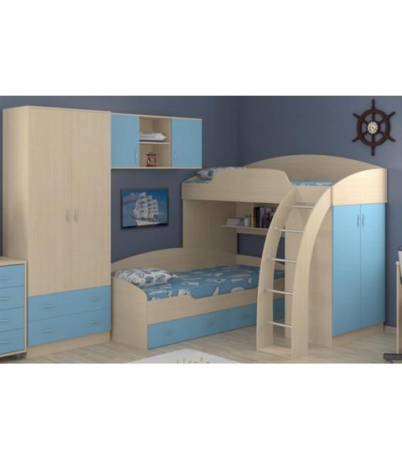 buymebel.ru двухъярусная кровать Соня 1+2+3