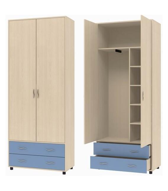 buymebel.ru ДЕЛЬТА-4 шкаф для одежды с ящиками