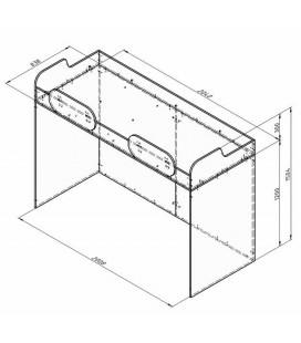 ДЕЛЬТА-18.02 кровать верхняя схема с размерами