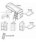 buymebel.ru Дюймовочка-5 комплектация №1 схема модулей