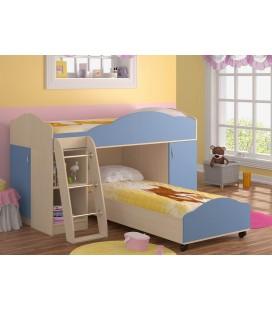 кровать двухъярусная Дюймовочка-5 комплектация №2