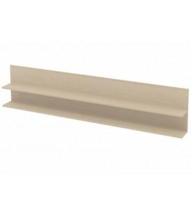 полка для металлических кроватей цвет дуб молочный