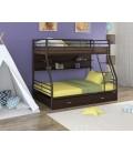 buymebel.ru двухъярусная кровать Гранада-2 ПЯ коричневый - венге