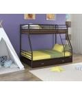buymebel.ru двухъярусная кровать Гранада-2 Я коричневый - венге