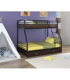 двухъярусная кровать Гранада-2 Я чёрный - венге