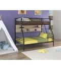 buymebel.ru двухъярусная кровать Гранада-2 П коричневый - дуб молочный