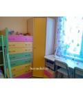buymebel.ru ДЕЛЬТА-1 шкаф для одежды угловой фасад жёлтый