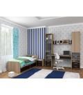 buymebel.ru детская комната Дельта №14 дуб сонома / венге