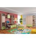 buymebel.ru детская комната Дельта композиция №9 цвет дуб сонома / салатовый
