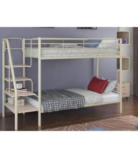 кровать двухъярусная с лестницей Толедо