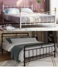кровати для спальни из металла